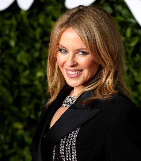 Kylie Minogue a enregistré son nouvel album dans son salon