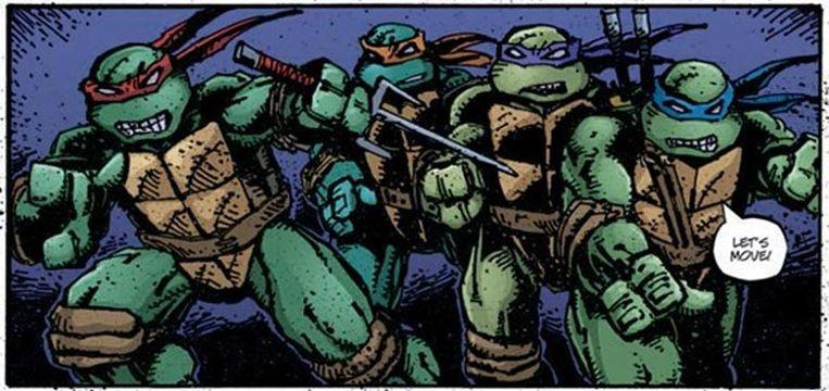Teenage Mutant Ninja Turtles Beeld Kevin B. Eastman