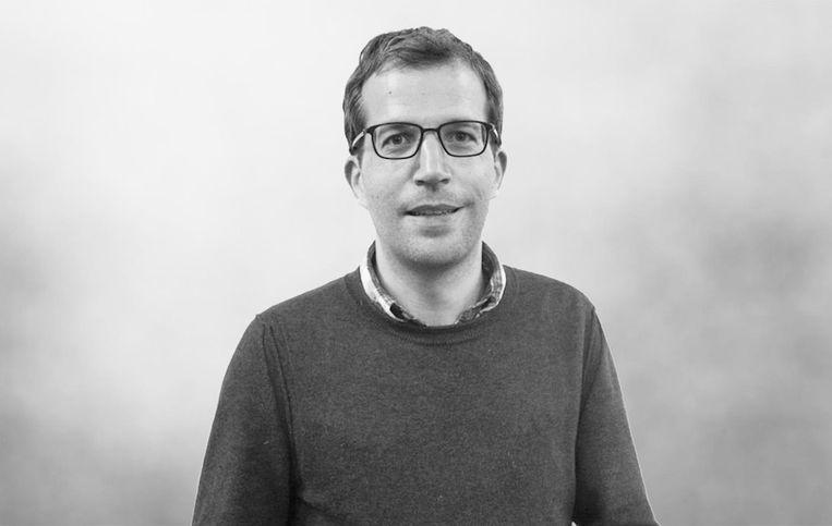 Tim Vreugdenhil, predikant in de Oosterkerk Beeld