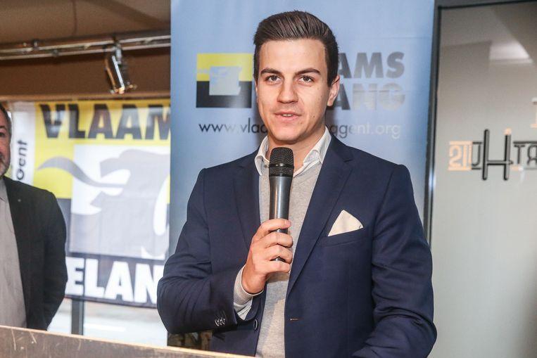 Dries Van Langenhove, lijsttrekker voor Vlaams Belang in Vlaams-Brabant.