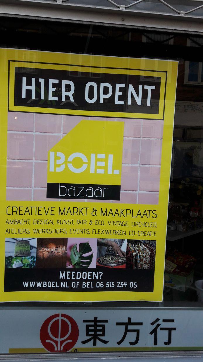 Boel Bazaar wil begin juni open aan het Hinthamereinde