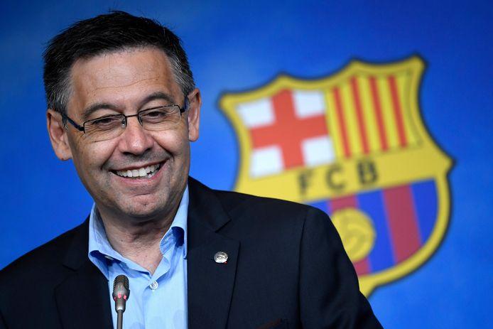 Josep Bartomeu, huidig voorzitter van FC Barcelona.