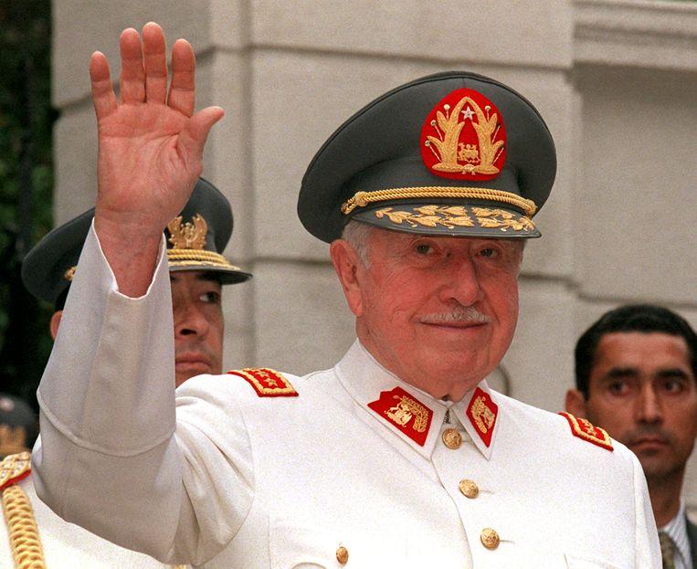 De Chileense oud-dictator Augusto Pinochet. Beeld AFP