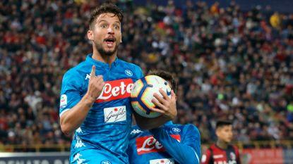"""Football Talk. Mertens: """"Ik blijf bij Napoli""""- Fellaini wint Belgisch onderonsje tegen Dembélé - Carrasco geeft assist bij Dalian Yifang"""