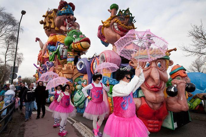 Archieffoto van carnavalsoptocht in Raamsdonk.