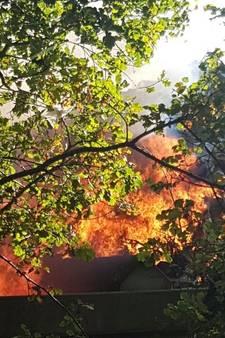 Brand bij Baetsen in Son 'omvangrijke' klus voor brandweer