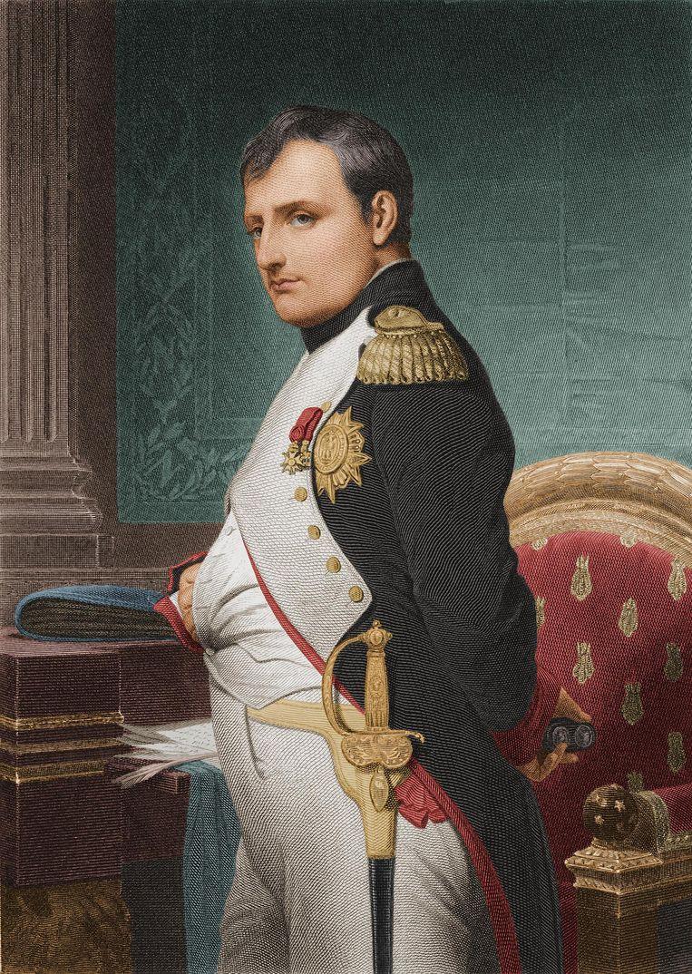 Soldaat Nicolas Chauvin had, wil de legende, een blind en vurig geloof in Napoleon Bonaparte Beeld getty