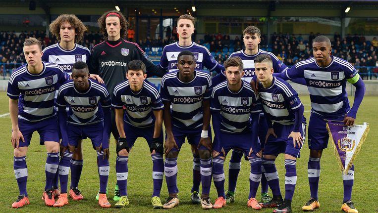 De U19 van Anderlecht speelde vorig seizoen een opmerkelijke campagne die strandde in de halve finale Beeld Photo News