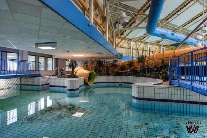 Zo ligt zwembad Tongelreep in Eindhoven er tegenwoordig bij.
