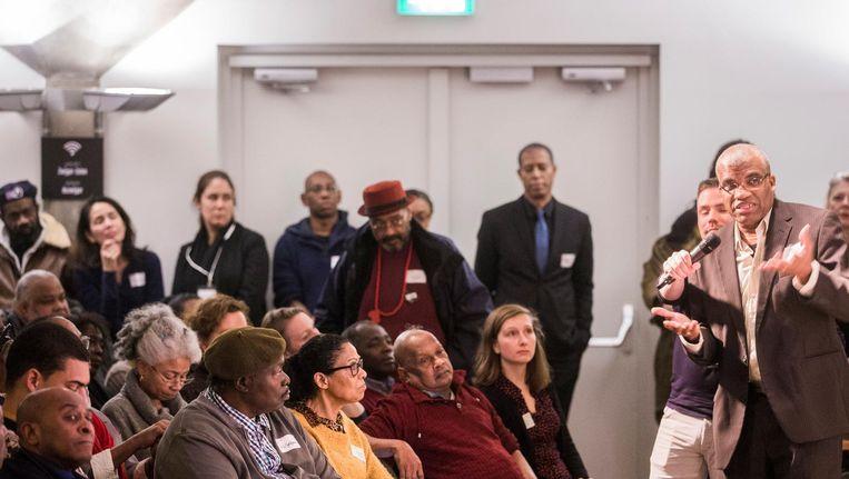 Een museum staat al tientallen jaren hoog op het verlanglijstje van de Surinaamse en Antilliaanse gemeenschap, bleek in januari in Pakhuis de Zwijger Beeld Maarten Brante
