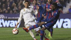 VIDEO. Manier waarop Real zege in schoot geworpen kreeg, krijgt nóg een wrangere nasmaak voor Levante