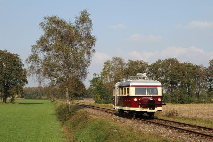 De Wismar railbus van de MBS.