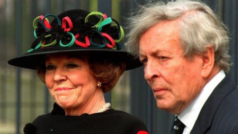 Koningin Beatrix en Prins Claus in 1998. Foto ANP Beeld