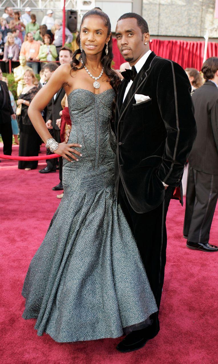 Diddy en Kim Porter in 2005.