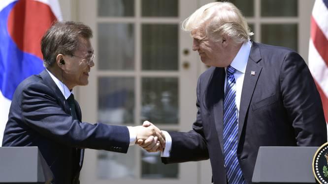 """Zuid-Koreaanse president: """"Trump verdient Nobelprijs voor de Vrede"""""""