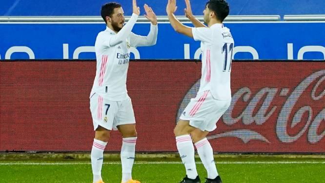 Hazard (enfin) décisif, doublé de Benzema et une démonstration: le Real Madrid se rassure à Alavés