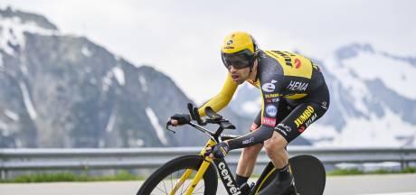 Tom Dumoulin net buiten podium in klimtijdrit Ronde van Zwitserland, Urán oppermachtig
