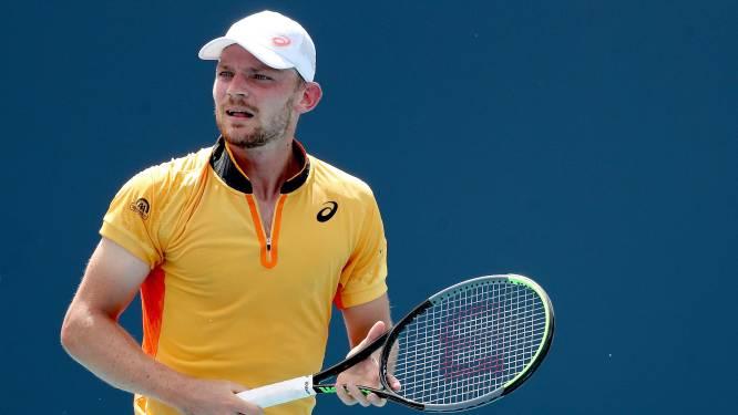 Goffin treft Cecchinato in 2de ronde ATP Monte Carlo