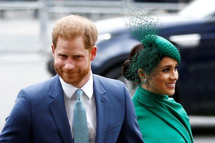 Prins Harry en zijn vrouw Meghan.