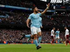 Agüero evenaart stokoud record bij Manchester City