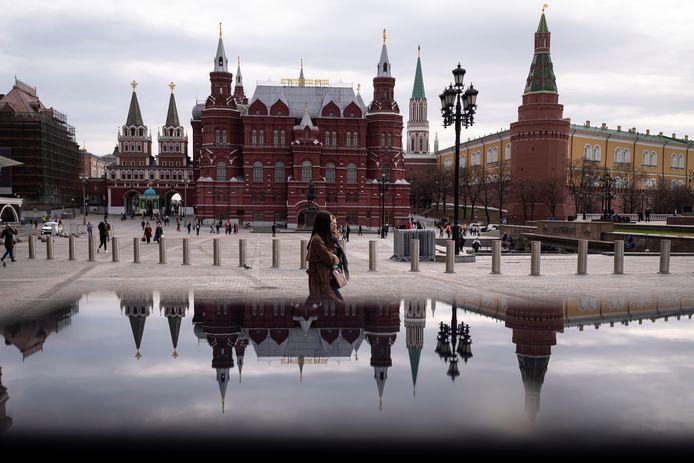 Het Kremlin in Rusland