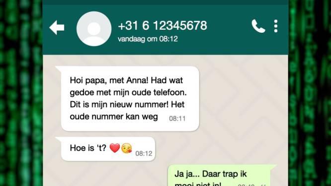 'Hoi papa, met mij': Zes minuten nadat een ouder in een nep-appje was gestonken, had 28-jarige het geld al opgenomen