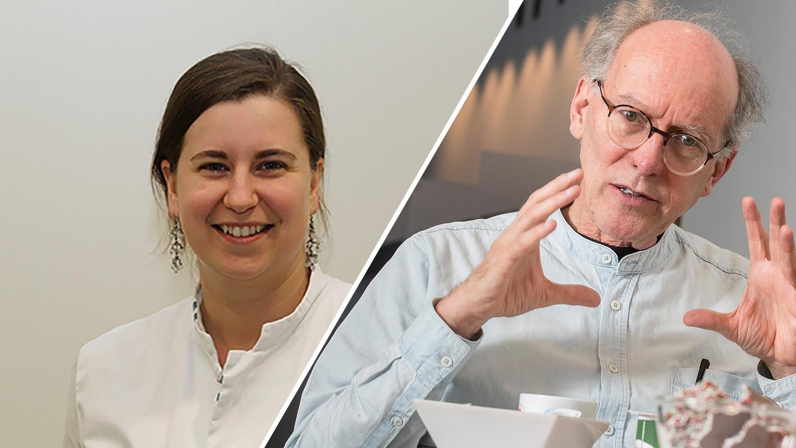 De CWZ-artsen Jona Walk (links) en Bert Mulder.