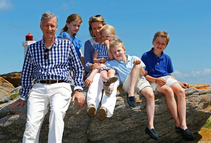Uit de oude doos: de Belgische royals op vakantie in 2003.