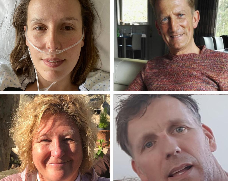 Zo voelt het om corona te hebben: 4 patiënten, 4 keer anders Beeld rv