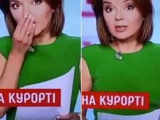 Une présentatrice du journal télévisé perd une dent en plein direct