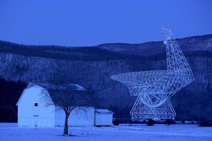 Green Bank Radio Telescoop.