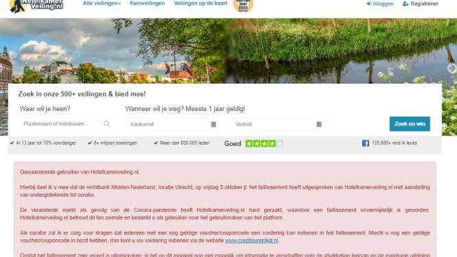 Onbegrip over plots faillissement hotelkamerveiling; Elly (70) uit Oldenzaal kon tot laatste moment kopen
