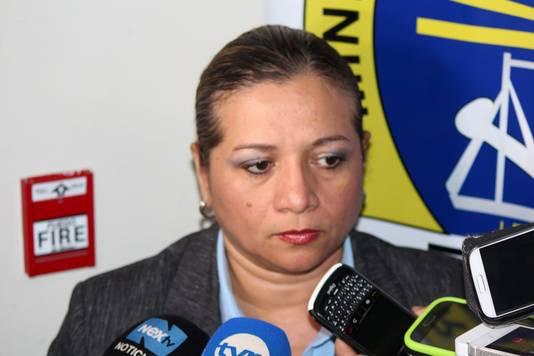 De Panamese onderzoeksleidster Betzaida Pitty.