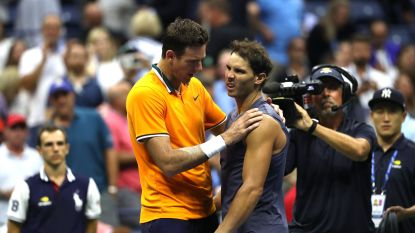 Flinke domper voor titelverdediger Nadal op US Open: Spanjaard geeft in halve finale op met knieblessure