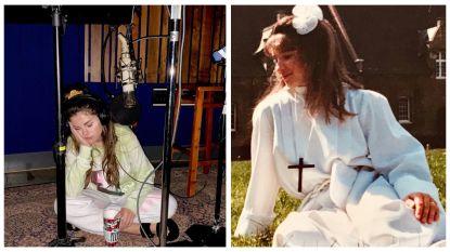 SHOWBITS. Selena Gomez slaapt in de studio en herken jij dit K3'tje?