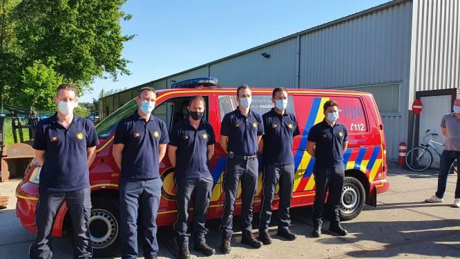 """Brandweerpost Lille operationeel vanaf 8 juni met eerste zes rekruten: """"We zoeken in totaal 32 vrijwilligers tegen 2025"""""""