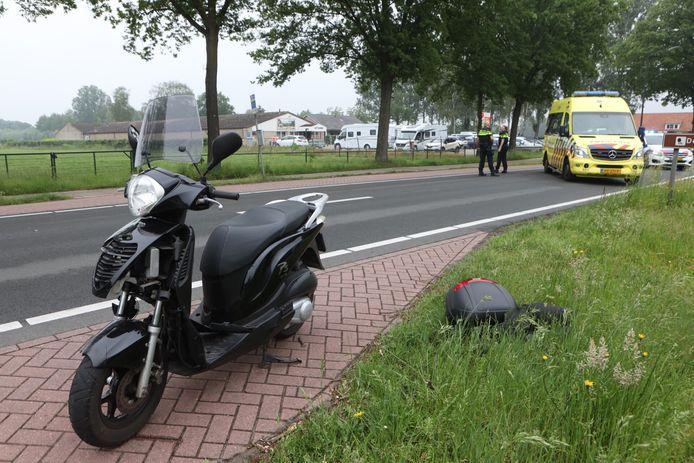 Ongeval met motorrijder in Schijndel