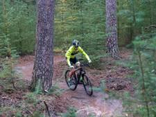 Mountainbikers betalen mee aan het laten begrazen van de Heuvelrug door schapen