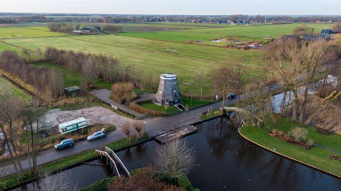 De polder in Giethoorn.