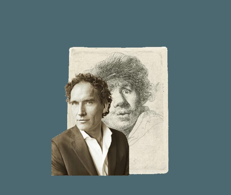 Onno Blom In het spoor van de jonge Rembrandt Beeld VK