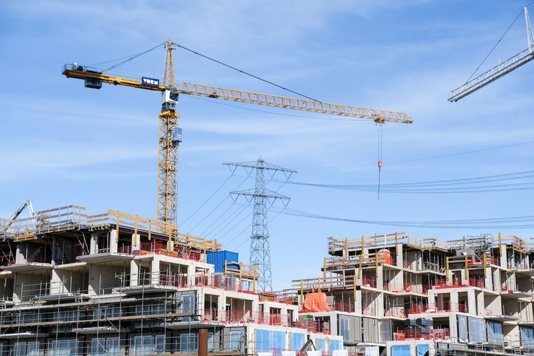 Nieuwbouw op IJburg. Beeld Hollandse Hoogte / Kim van Dam