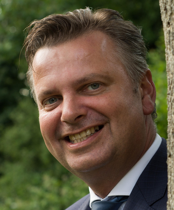 Organist Peter Wildeman, één van de initiatiefnemers.