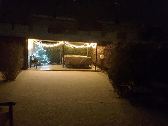 Sneeuw in Os