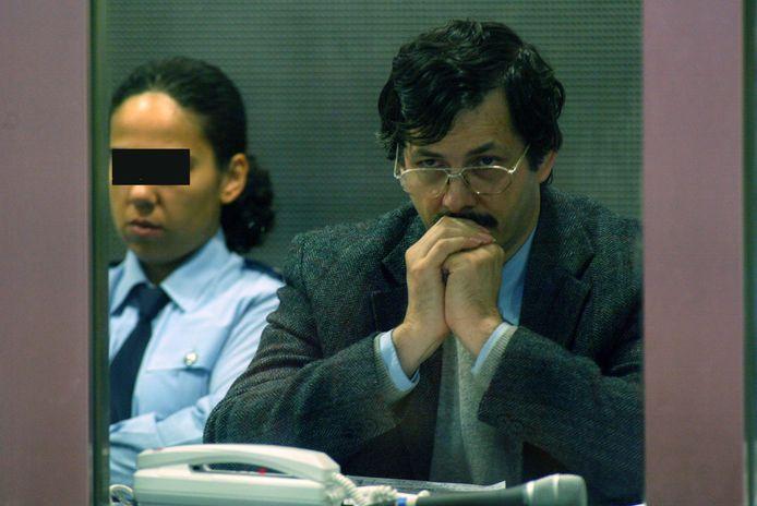 Marc Dutroux lors de son procès en 2004, à Arlon.