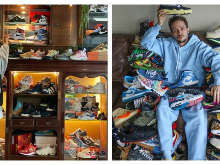 Yeezy sneakers geveild vanaf 1 miljoen dollar: wat bezielt 'sneakerheads' om zo veel geld te betalen? 2 Belgen over hun passie