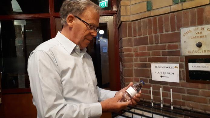 Vrijwilliger Mart Kuipers van de Lourdeskerk