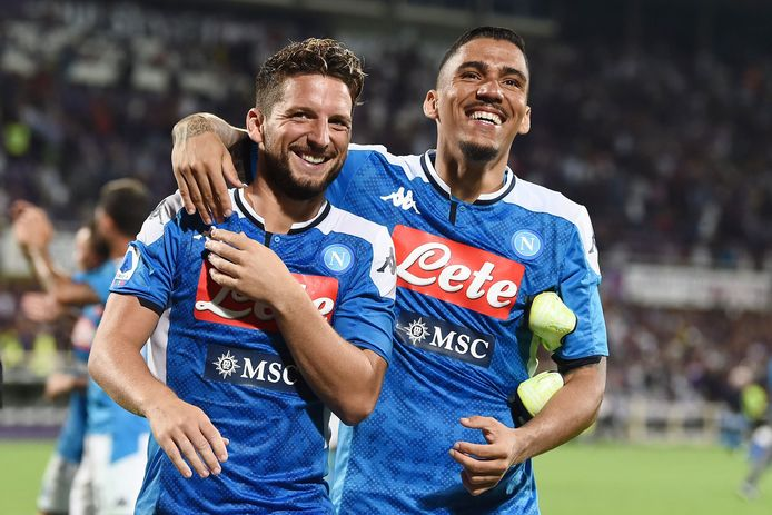 Dries Mertens et Allan.