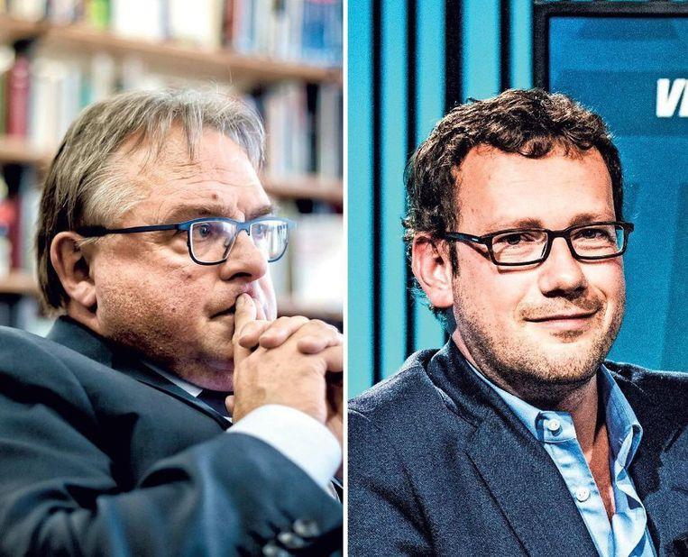 De Ruyver en Sinardet zien twintig jaar na de zaak-Dutroux erg veel gelijkenissen. Beeld TOM PALMAERS
