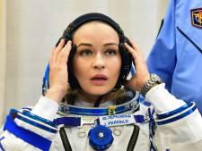 Eerste filmopnames in de ruimte zijn afgerond, Russische actrice keert terug op aarde