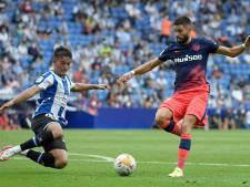 L'Atlético arrache la victoire sur le fil contre l'Espanyol, Carrasco buteur et passeur